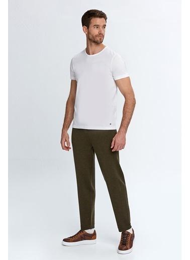 Hemington Extrafine Merino Koyu Loungewear Triko Pantolon Yeşil